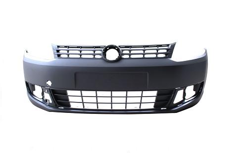 W.CADDY FR.BUMPER BLACK W/GRILLE 10-14/TÜV prices